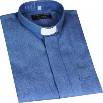 Denim Clerical Shirt