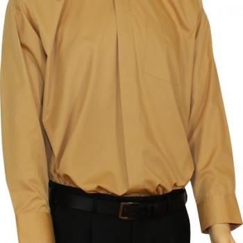 Gold Clerical Shirt