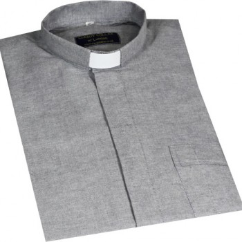 Oxford Cotton Clerical Shirt
