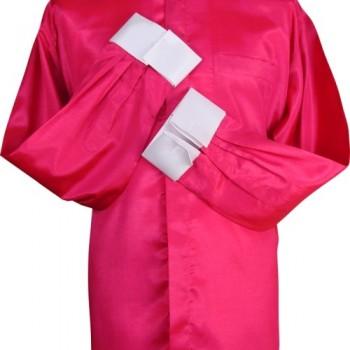Roman Purple Silk Clerical Shirt