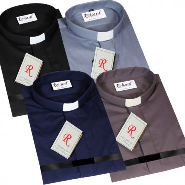 Reliant Short Sleeve Clerical Shirts