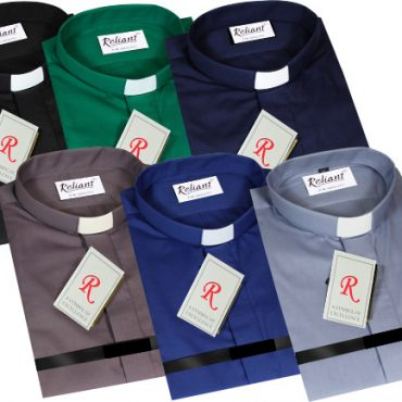 Slip in Collar Clerical Shirts